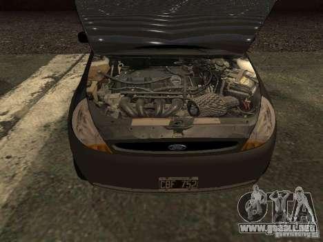 Ford Ka 1998 para la visión correcta GTA San Andreas