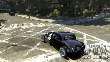 Ford Ratrod 1934 para GTA 4 left