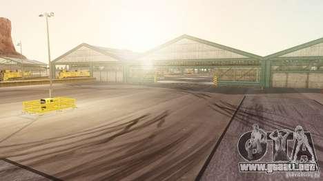 Nevada Drift Map para GTA 4 tercera pantalla