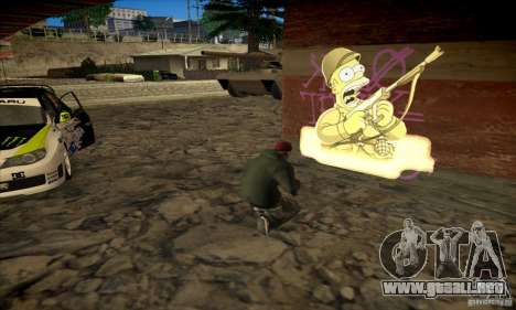 Simpson Graffiti Pack v2 para GTA San Andreas