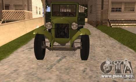 ZiS-5 para la visión correcta GTA San Andreas