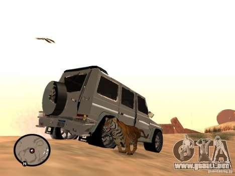 Animales en GTA San Andreas 2.0 para GTA San Andreas segunda pantalla