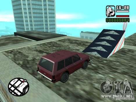 Salón del automóvil para GTA San Andreas séptima pantalla