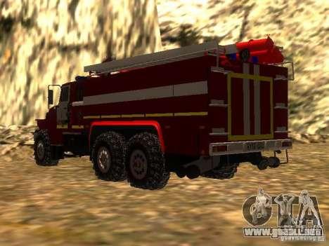 Ural 43206 AC 3.0-40 (6 x 6) para GTA San Andreas left