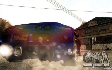Lensflare para GTA San Andreas sexta pantalla