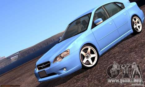 Subaru Legacy 2004 v1.0 para el motor de GTA San Andreas