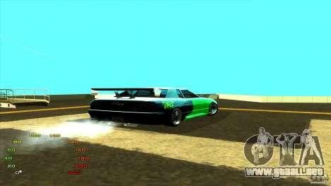 Paquete de vinilo para Elegy para GTA San Andreas segunda pantalla
