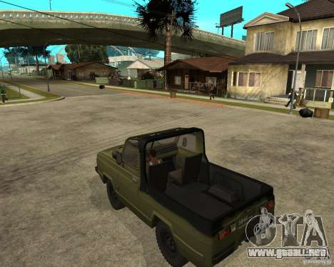 UAZ-3907 Jaguar para GTA San Andreas left