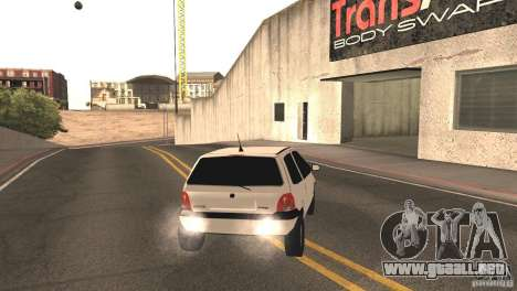 Renault Twingo para GTA San Andreas vista posterior izquierda