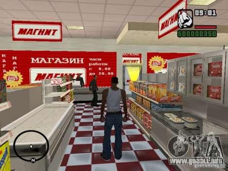 Tiendas de imán para GTA San Andreas