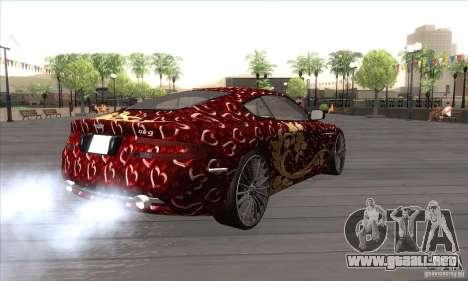 Aston Martin DB9 Female Edition para la visión correcta GTA San Andreas