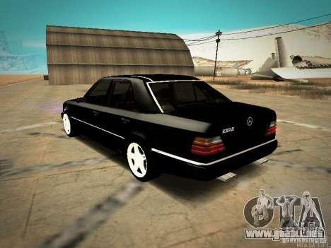 Mercedes-Benz E250 V1.0 para GTA San Andreas vista posterior izquierda