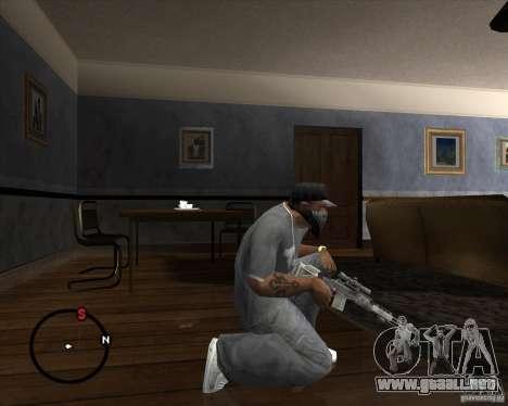 M14 EBR para GTA San Andreas segunda pantalla