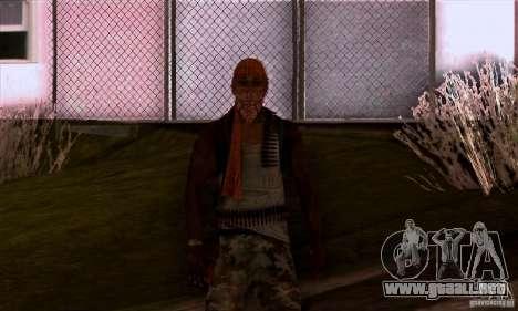 Pirata para GTA San Andreas quinta pantalla