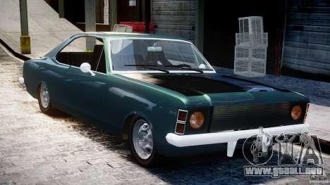 Chevrolet Opala 1979 v1.0 [BETA] para GTA 4 visión correcta