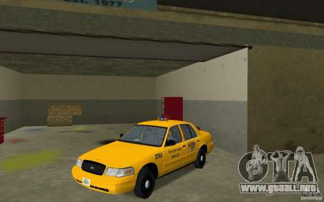 Ford Crown Victoria Taxi para GTA Vice City