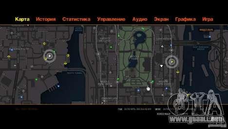 CG4 Radar Map para GTA 4 sexto de pantalla