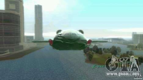 ThunderBird 2 para GTA Vice City left