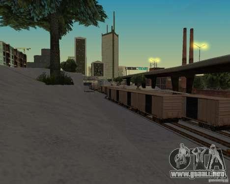 Nueva estación de ferrocarril para GTA San Andreas