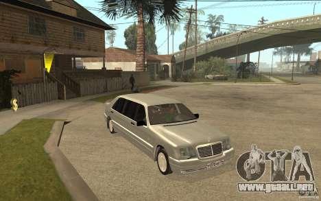 Mercedes-Benz S600 W140 1998 Pullman para GTA San Andreas vista hacia atrás