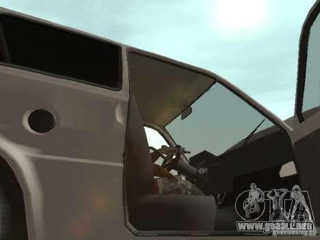 Proteína de Oka VAZ 1111 para visión interna GTA San Andreas