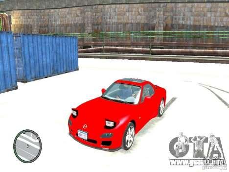 Mazda RX-7 Type RZ para GTA 4