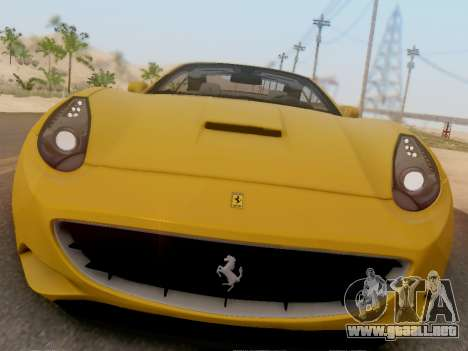 Ferrari California Hamann 2011 para GTA San Andreas left