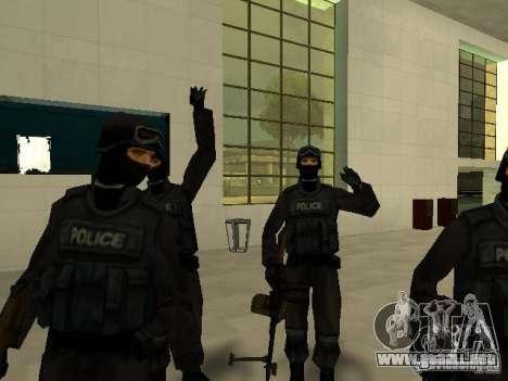 Ayuda Swat para GTA San Andreas sexta pantalla