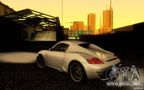Ruf RK Coupe V1.0 2006 para GTA San Andreas left