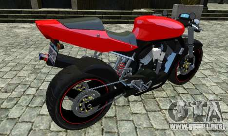 Suzuki Street Fighter Custom para GTA 4 left
