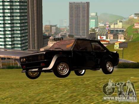 Fiat 131 Abarth Rally para visión interna GTA San Andreas