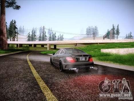 Improved Vehicle Lights Mod para GTA San Andreas sucesivamente de pantalla