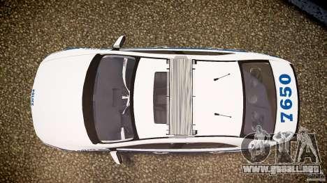 Honda Accord Type R NYPD (City Patrol 7605) ELS para GTA 4 visión correcta