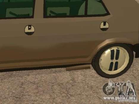 Fiat Ritmo para vista inferior GTA San Andreas
