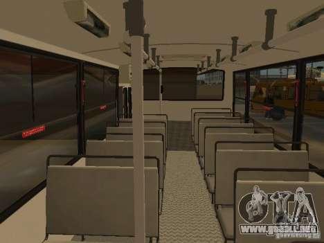 Mercedes-Benz LO-708E para visión interna GTA San Andreas
