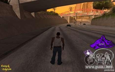 C-HUD by Roodney para GTA San Andreas