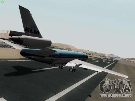 McDonell Douglas DC-10-30 KLM Royal Dutch para la visión correcta GTA San Andreas