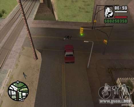 Cámara como en GTA Chinatown Wars para GTA San Andreas segunda pantalla