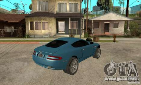 Aston Martin DB9 de NFS MW para la visión correcta GTA San Andreas