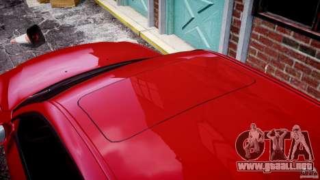 BMW M5 E60 2009 para GTA 4 interior