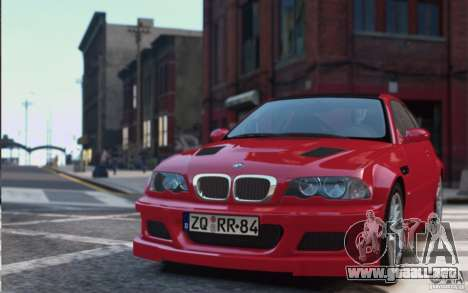 BMW M3 Street Version e46 para GTA 4