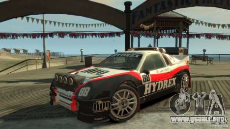 Ford RS200 Evolution Rallycross para GTA 4