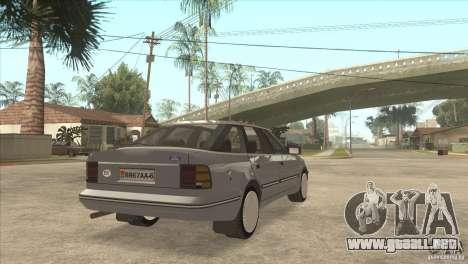 Ford Scorpio para GTA San Andreas left