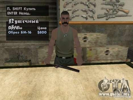 Armas Pak domésticos para GTA San Andreas séptima pantalla