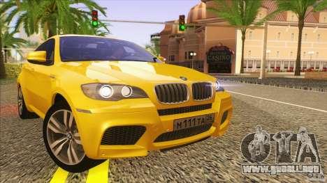 BMW X6M E71 v2 para GTA San Andreas