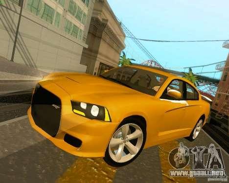 Dodge Charger SRT8 2012 para el motor de GTA San Andreas