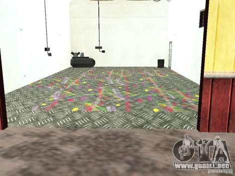 Nuevo taller de pintura en Dillimore para GTA San Andreas segunda pantalla