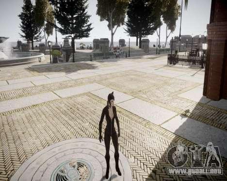 Catwoman v2.0 para GTA 4 adelante de pantalla