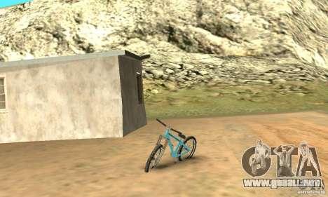 Dirt Jump Bike para GTA San Andreas left