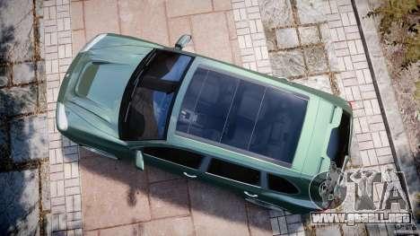 Porsche Cayenne Turbo S 2009 Tuning para GTA 4 visión correcta